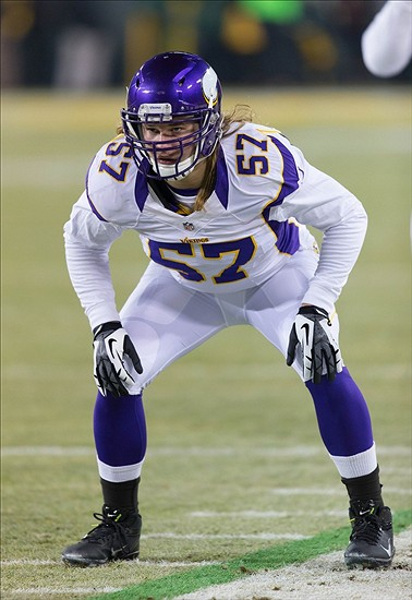 Audie Cole Ready To Take Over At Middle Linebacker For Vikings - Audie cole